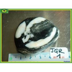 Jaspe coquille en pierre roulée de 62 g