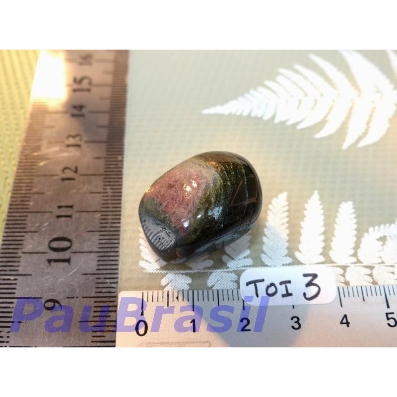 Tourmaline Polychrome en pierre roulée de 16 gr80