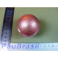 Sphère en Cuivre 575gr diam 50mm