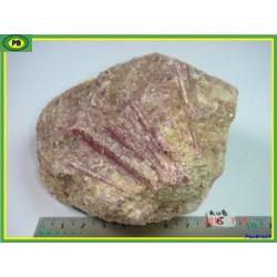 Rubellite, tourmaline rose de 600g du Brésil