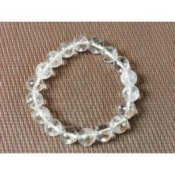 Bracelet en CRISTAL DE ROCHE Q Extra en perles de 10mm