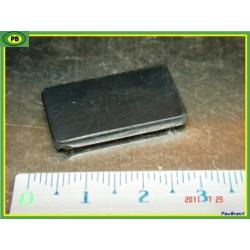 Shungite - plaquette téléphone - protection 25x15x3mm environ .