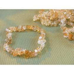 Bracelet baroque en CITRINE