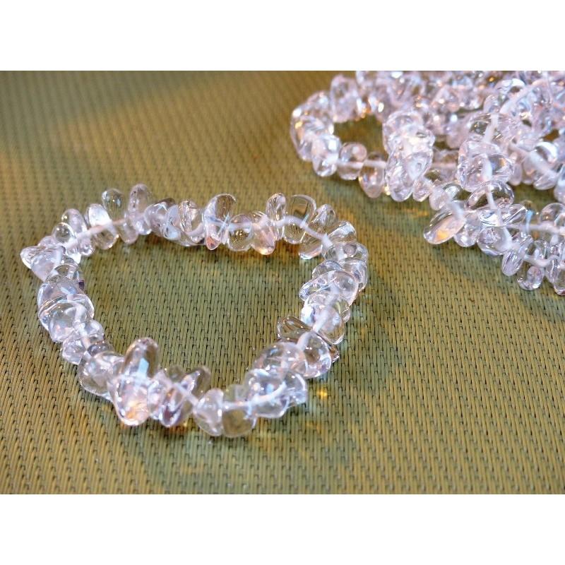 Bracelet baroque en  Cristal de Roche Extra