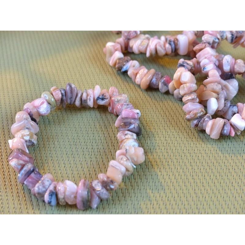 Bracelet baroque en Opale des Andes