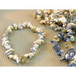 Bracelet baroque en Serpentine chyta