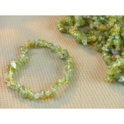 Bracelet baroque en PERIDOT