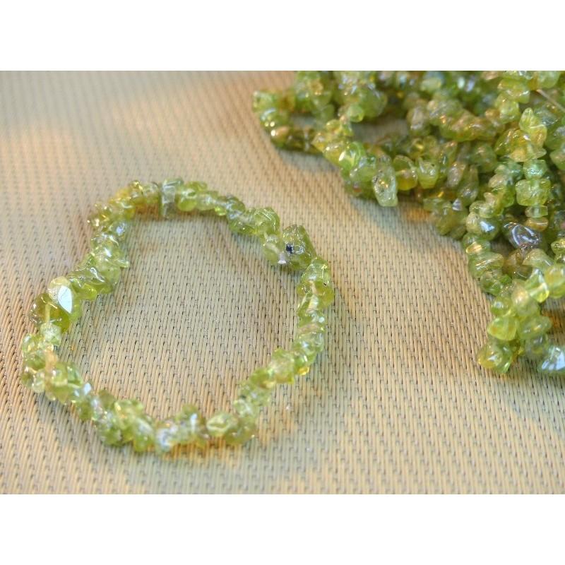 Bracelet baroque en Péridot