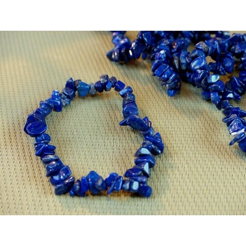 Bracelet baroque en Lapis Lazuli Q Extra