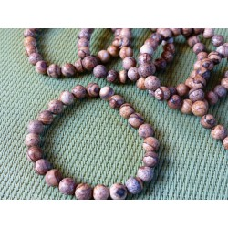 Bracelet Jaspe Paysage perles 8mm
