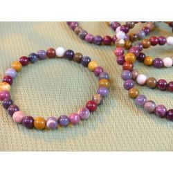 Bracelet Jaspe Mokaïte perles de 6mm