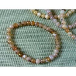 Bracelet Opale jaune en perles de 6mm