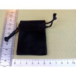 Pochette Feutrine Noire 5x5cm