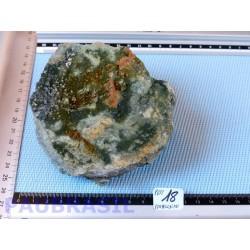 Pumpellyite brute de 779 g de Malaga en Espagne