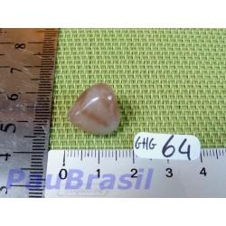 Grenat Hydro grossulaire en pierre roulée Q Extra 4gr50 .