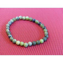 Bracelet Jade Néphrite en perles de 6mm