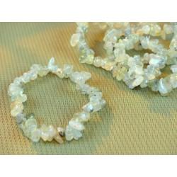 Bracelet baroque Prehnite Epidote