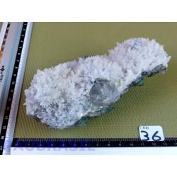 Calcite blanche brute de 386 gr du Brésil