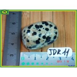 Jaspe Dalmatien, Lamparci en  pierre roulée 22g