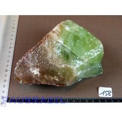 Calcite Verte en Pierre Brute 1300g Q Extra