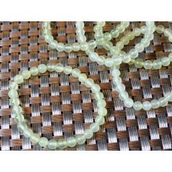 Bracelet Jade Jaune Australie en perles de 6mm