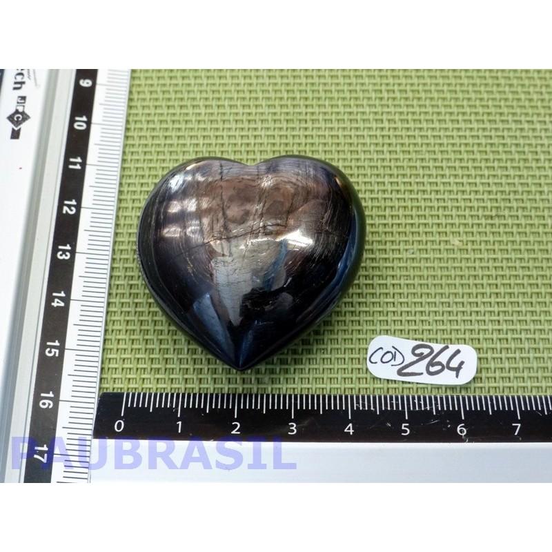 Coeur en Hypersthène 64gr Q Extra .