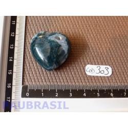 Coeur en Agate Mousse 19 g .