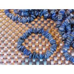 Bracelet baroque XL en Tanzanite Extra .