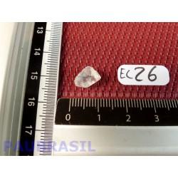 Euclase en pierre brute rare du Brésil qualité Extra 0gr50 .