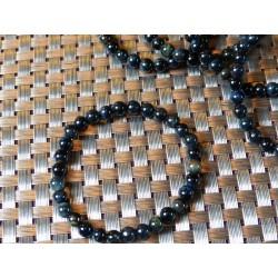 Bracelet OEIL DE FAUCON Q Extra en perles de 6mm