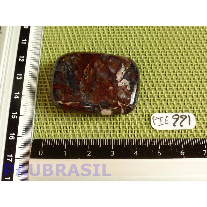 Piétersite en pierre plate rectangulaire de 25 gr.