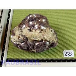 Lépidolite Nodule 620g du Brésil .