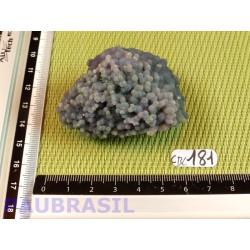 Calcédoine Indonésie pierre brute rare Q Extra 84g .