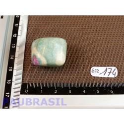 Rubis sur Fuchsite en pierre roulee 24gr .