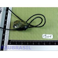 Pendentif en Jaspe Kimbaba Crocodile 14gr
