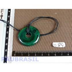 Pi donut pendentif Malachite Q Extra 33mm