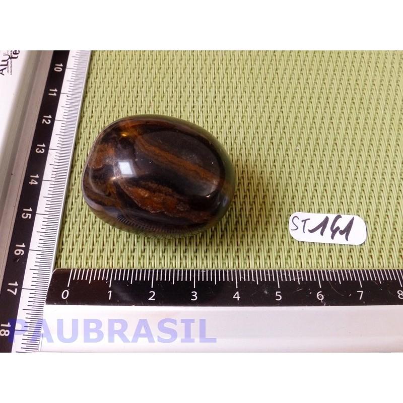 Stromatolite en pierre roulée 44g
