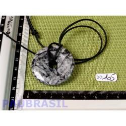 Pi donut pendentif Pinolite 4 cm Q Extra