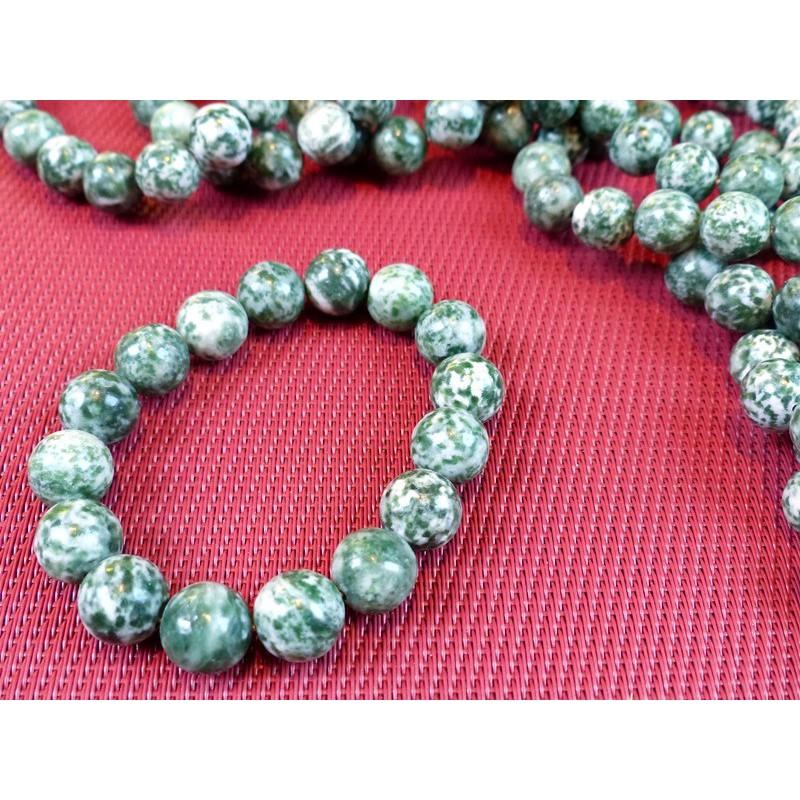 Bracelet ANTIGORITE en perles de 12mm