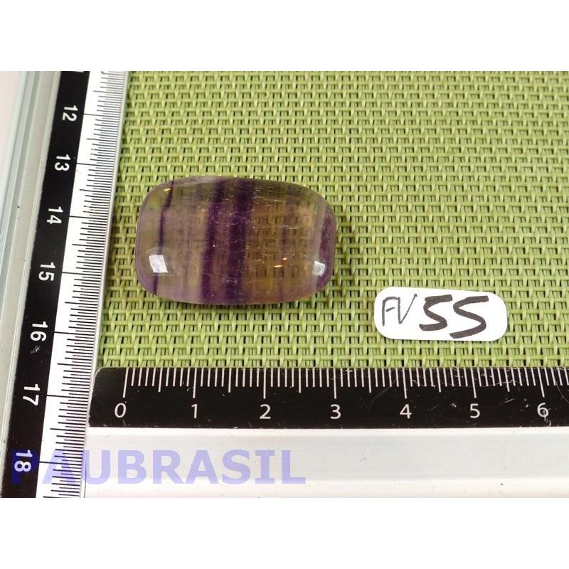 Fluorite Violette plate rectangulaire 12g Q Extra