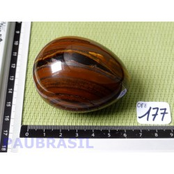 Oeuf en Oeil de Fer Q Extra 190g 45mm diamètre 60mm long.