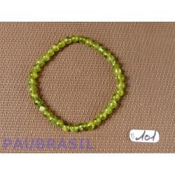 Bracelet Peridot en perles de 5mm50
