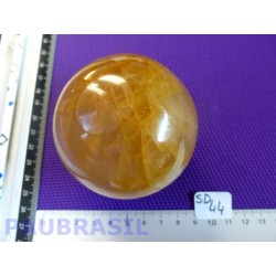 Sphère en Quartz Hematoïde de 608gr 76mm diamètre