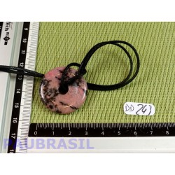 Donut Pi Rhodonite de 30 mm