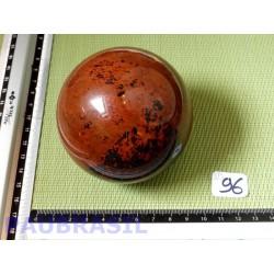 Sphère en Obsidienne Acajou Mahagony 600g 78mm diam