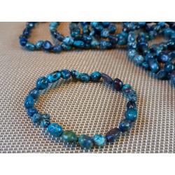 Bracelet SHATTUCKITE en mini pierres roulées Q Extra