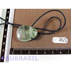 Pendentif en Fluorite Verte 11gr