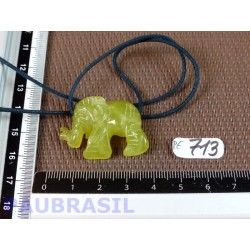 Pendentif Elephant Williamsite 10gr