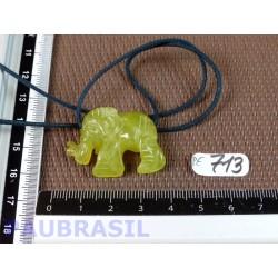 Pendentif Elephant Williamsite 10gr