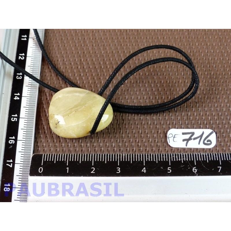 Pendentif en Opale jaune 8gr